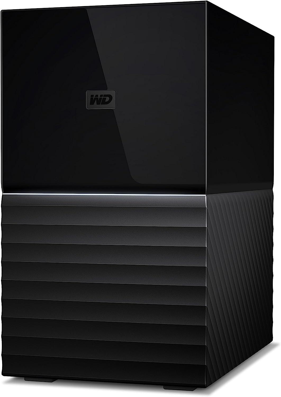 WD 4TB My Book Duo Desktop RAID External Hard Drive, USB 3.1 - WDBFBE0040JBK-NESN