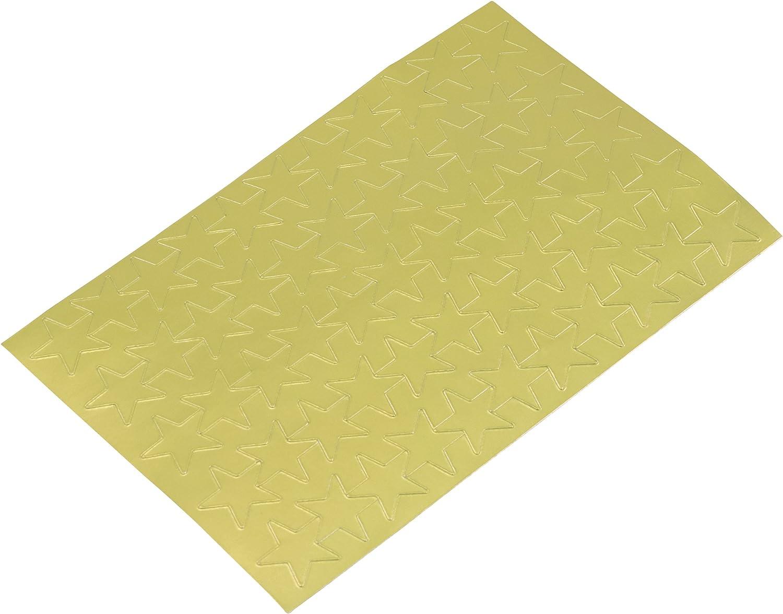 ADVANTUS Self Adhesive Gold Foil Stars Z06008 440 Labels