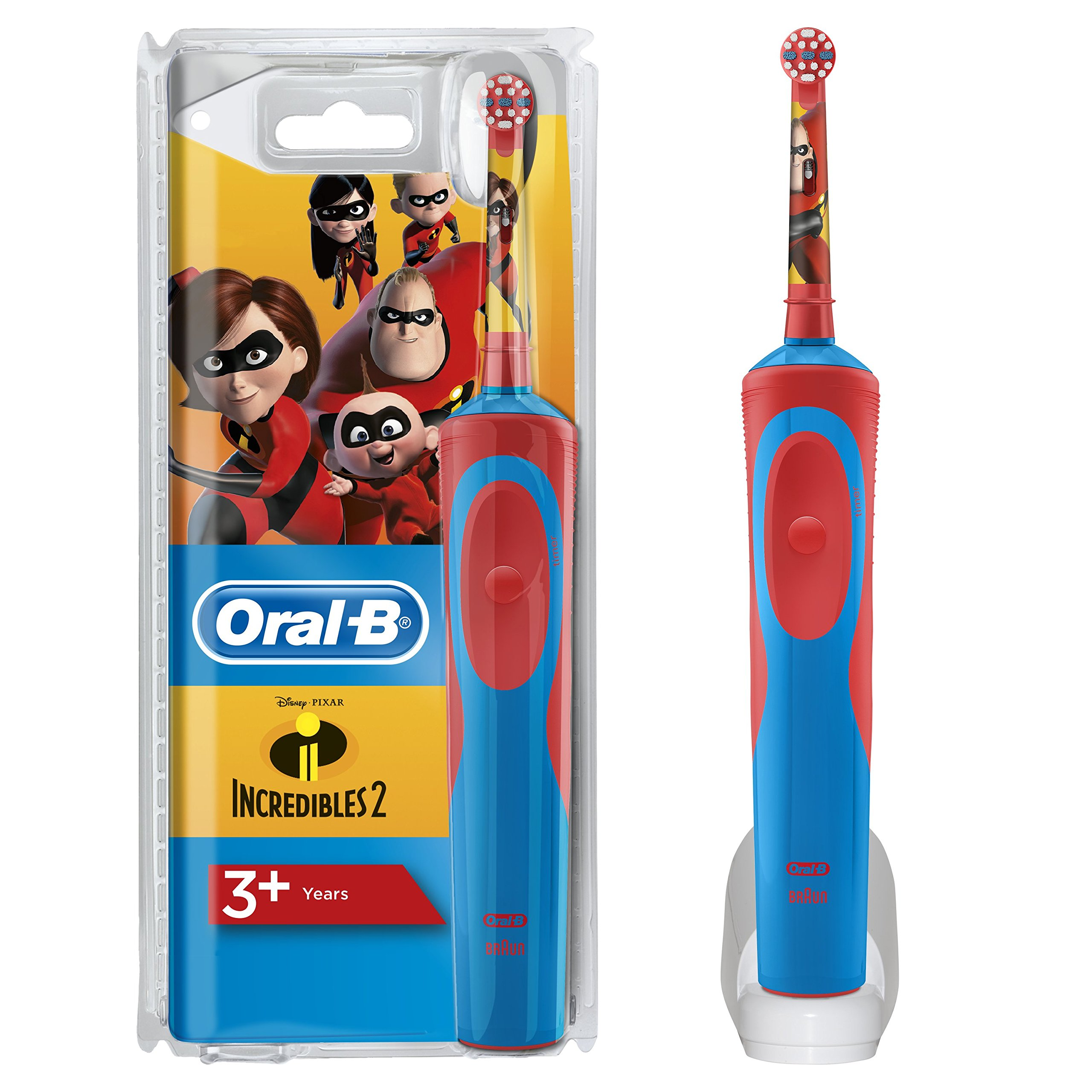 Oral-B Stages Power Kids Cepillo Eléctrico Niños Personajes Incredibles product image