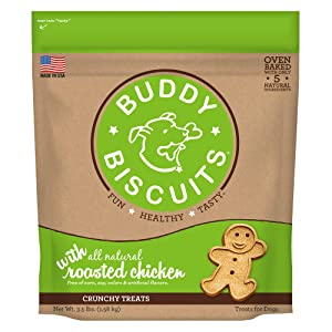 Cloudstar Pet Buddy Biscuits Original Roasted Chicken 3.5 Pounds