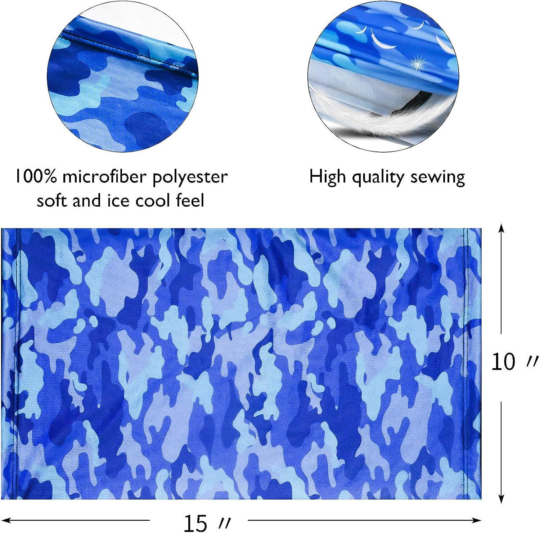 antipolvere e antivento per tutte le attivit/à allaria aperta confezione da 2 ManGotree traspiranti anti anti UV elasticizzate ghette da collo unisex