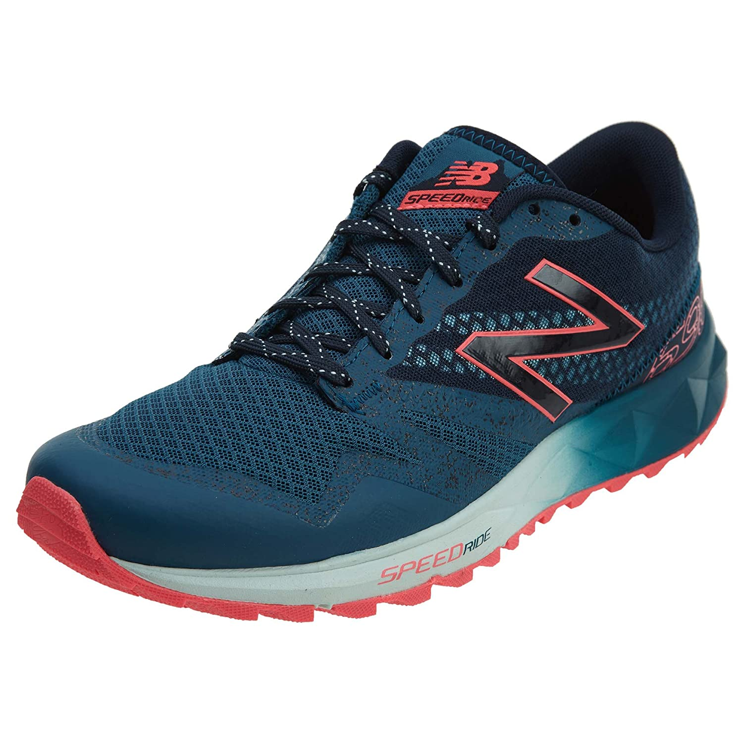 New Balance Women's wt690 Trail Running Sneaker B0784SNBLL 9 D US|Teal/Pink