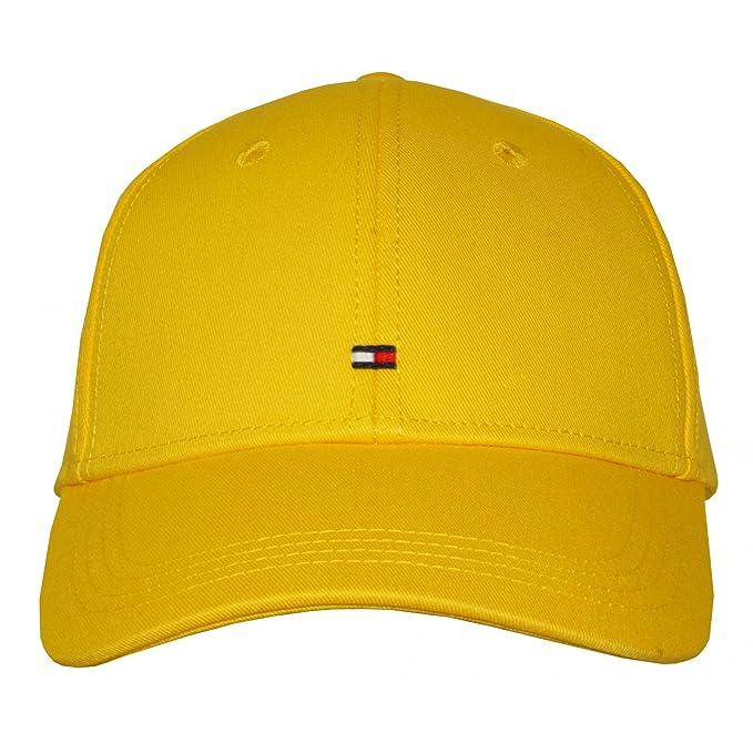 Gorra De Béisbol Clásico De Tommy Hilfiger, Amarilla Limón: Amazon.es: Ropa y accesorios