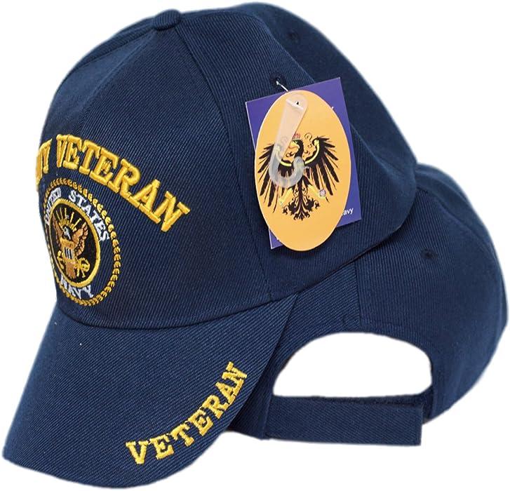 mws U.S Navy Veteran Vet Shadow Embroidered Ball Blue Cap Shadow 3D Hat  U.S. Navy 4 192b70aae1e