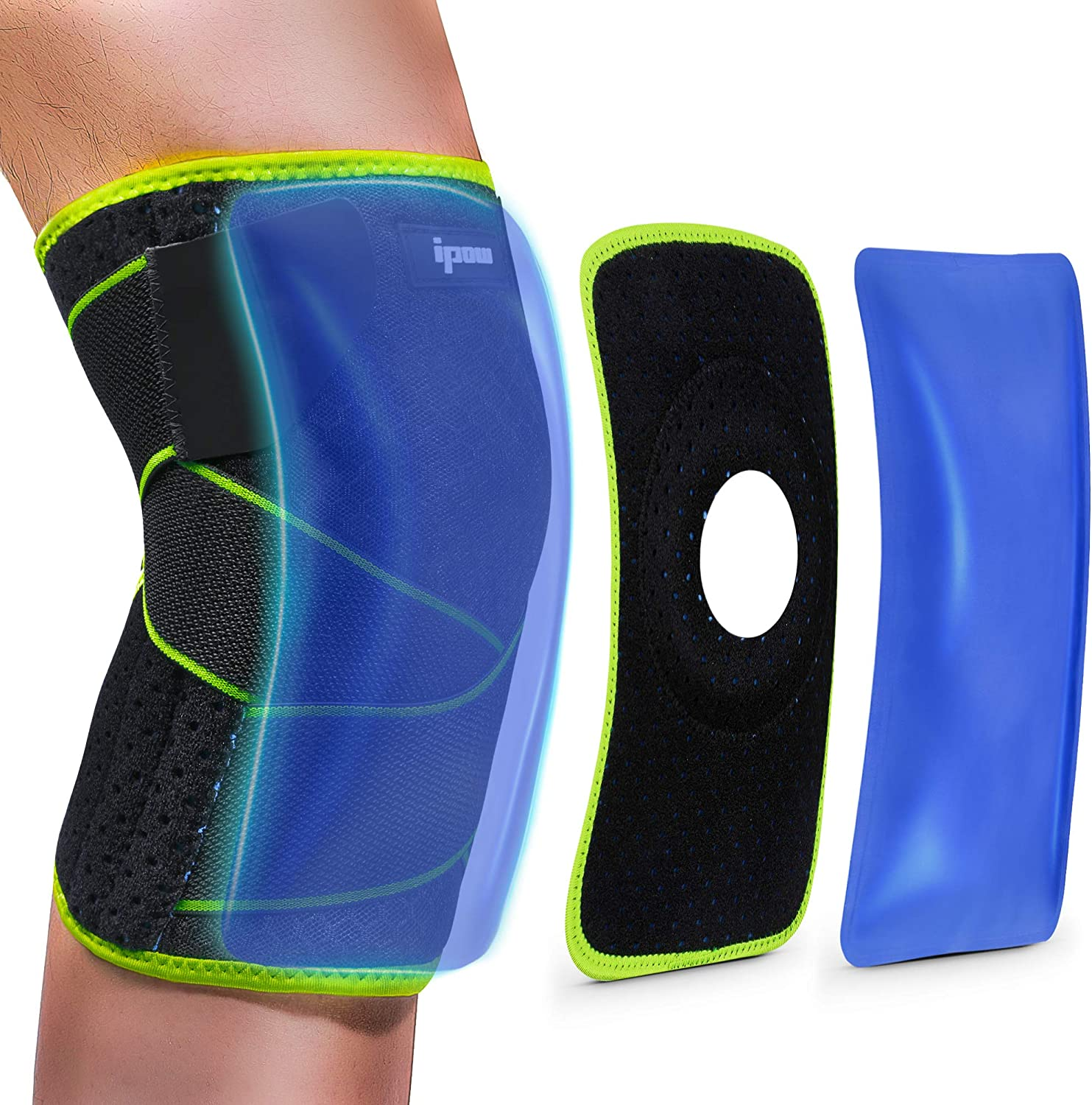 IPOW Knee Support Pad for Basketball Running