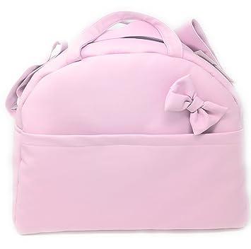 Bolso Carrito Bebe Lactancia Polipiel - .Color Rosa maquillaje - Danielstore-: Amazon.es: Bebé