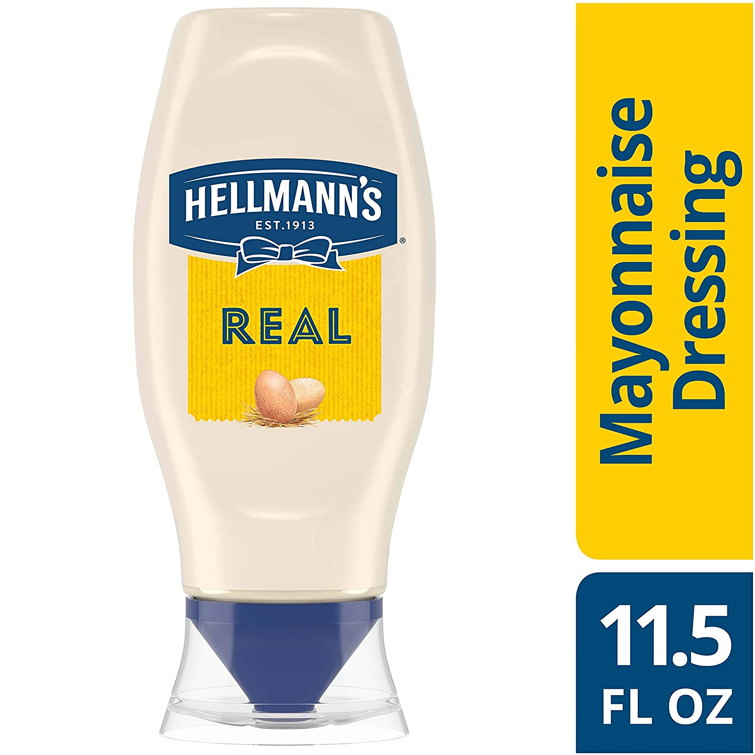 Hellmann's Real Mayonnaise, Squeeze 11.5 oz
