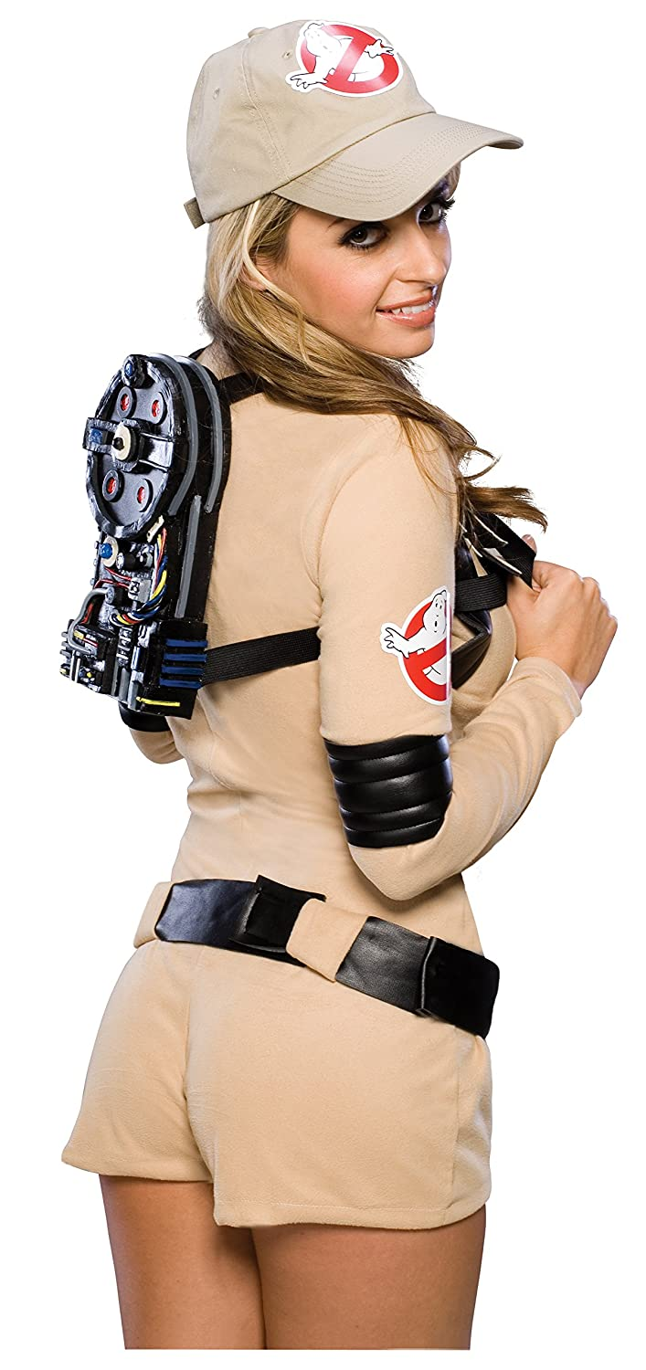 amazoncom secret wishes ghostbusters sexy romper costume clothing