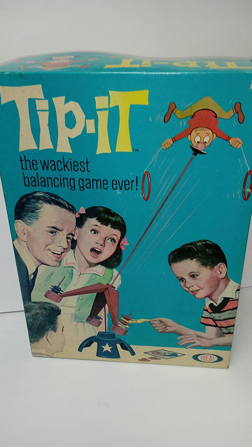Tip-It The Wackiest Balancing Game Ever 1965 Edition Ideal