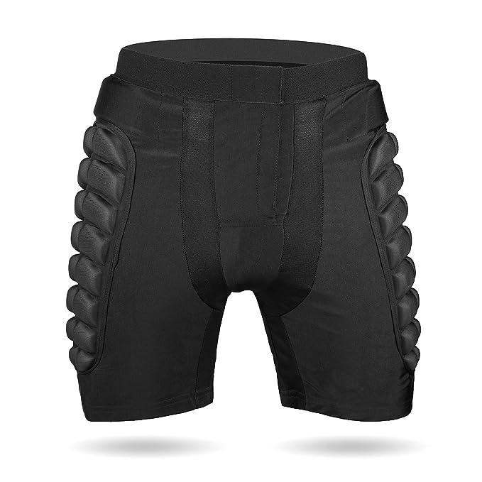 Shinmax Imbottito di Compressione Pantaloncini 906fbf606da