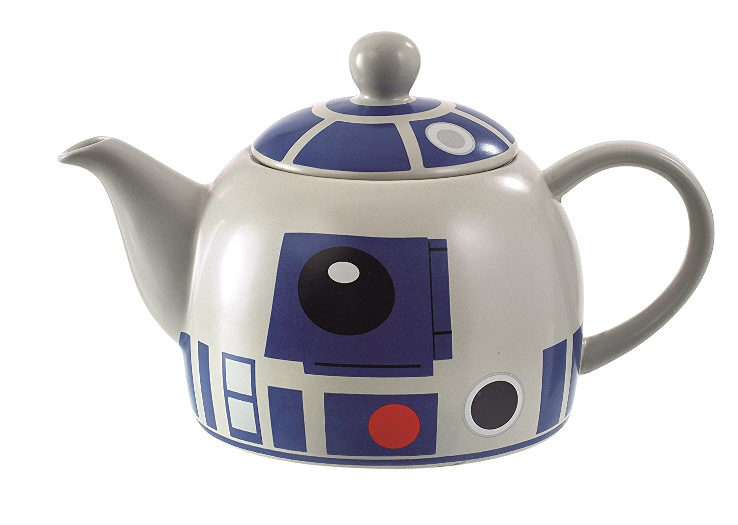 Star Wars R2D2 Teapot - Quality Ceramic with Detailed Design Underground Toys SW02331