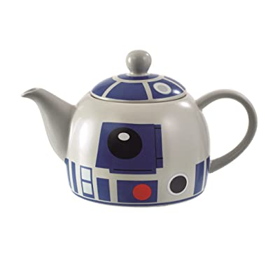 Star Wars R2D2 Teapot - Quality Ceramic with Detailed Design