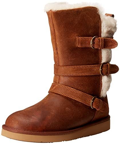UGG Australia Womens Becket Chestnut Winter Boot - 5