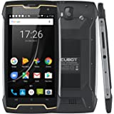 """CUBOT KINGKONG (2018) Outdoor Smartphone Impermeabile IP68, Antipolvere, Antiurto, Supporta Bussola, Batteria 4400mAh, Dual Sim, Android 7.0, Display 5"""" HD IPS MT6580 Quad Core 2GB RAM + 16GB ROM, Fotocamera Posteriore 13MP Fotocamera Frontale 8MP, GPS, Wi-Fi, 3G Telefono Cellulare [CUBOT OFFICIALE]"""