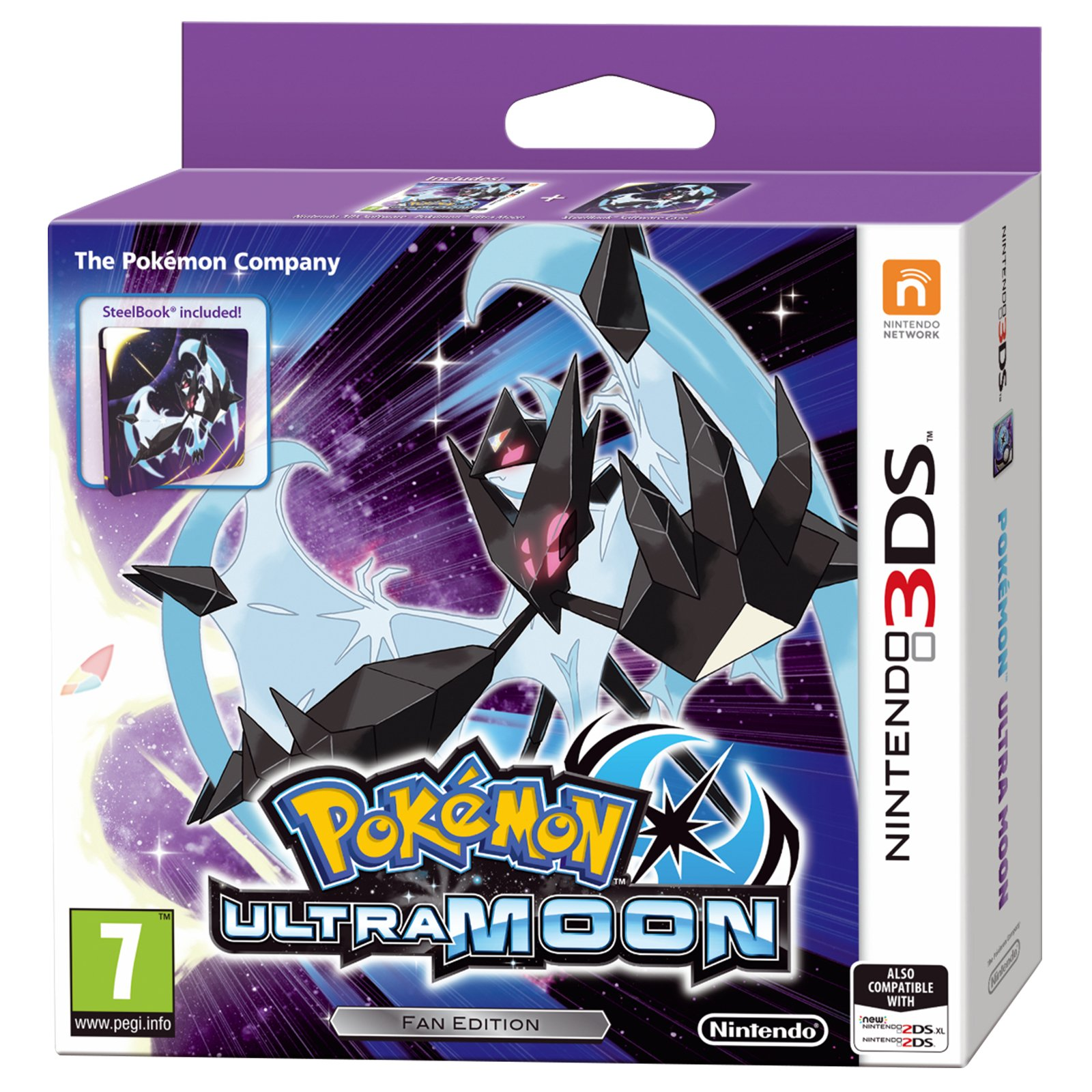 Pokémon Ultra Moon - Fan Edition (Nintendo 3DS)