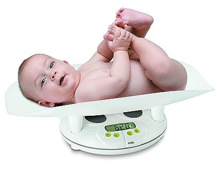 Laica PS3004 Color blanco - Báscula para bebés (AAA)