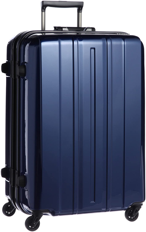 [サンコー] SUPER LIGHTS-MG EX プレミアム スーツケース スーパーライト プレミアムコート軽量 大型 マグネシウムフレーム 容量76L 縦サイズ68cm 重量3.8kg SMPE-63 B00E8AK67Uプレミアムネイビー