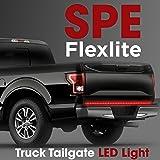"60"" Truck Tailgate Light Bar Strip - [Brake, Turn Signal, Running, Reverse Backup] - Weatherproof LED Flexible No-Drill - 5 Feature Tail Lights for Pickup Trucks - 1yr Warranty [60-Inch]"