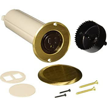 Hubbell Raco 6rf151sr Drop In Floor Box Kit With Brass