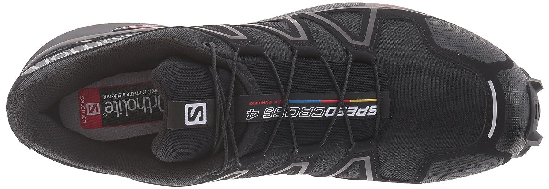 Salomon Women's Speedcross M 4 W Trail Runner B017SQZNXM 6.5 M Speedcross US|Black/Black/Black Metallic ead376