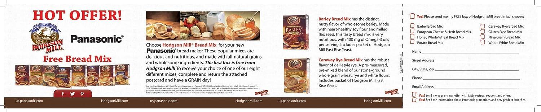 Panasonic Automatic Bread Maker - Panificadora (Blanco ...