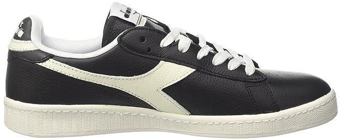 Diadora game l low, scarpe sportive uomo, bianco (biancoottico mandarino), 41 eu