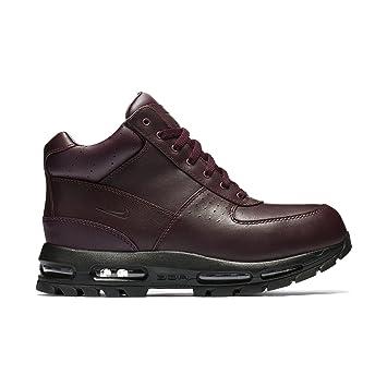 Nike Mens ACG Air Max Goadome Leather Boots Deep Burgundy/Black 865031-604  Size