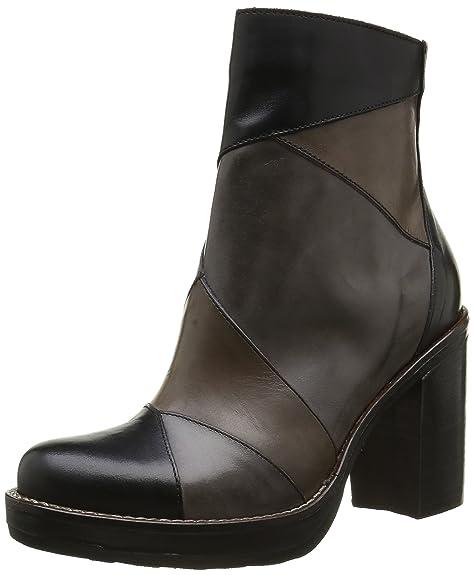 dc41bdada5 MU01 - Botas de Otra Piel Mujer, (Multi Tequila Nero), 36 EU: Amazon.es:  Zapatos y complementos
