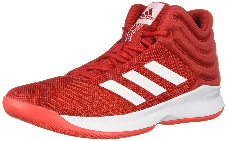 adidas Men's Pro Spark 2018 Basketball Shoe B077X6DTY2 11 D(M) US|Scarlet/White/Hi-res Red