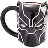 Vandor 20 oz Marvel Black Panther Sculpted Ceramic Mug