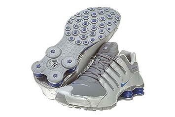 free shipping 7a350 0dbe3 Nike Shox NZ EU Fitness Scarpe Uomo, (GrigioBlu), 10