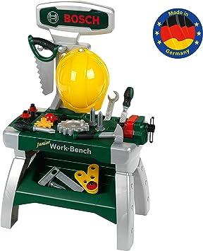 Theo Klein 8612 Bosch banco de trabajo junior, juguete, multicolor (8612)
