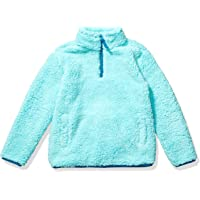 Amazon Essentials Quarter-Zip High-Pile Polar Fleece Jacket Niñas