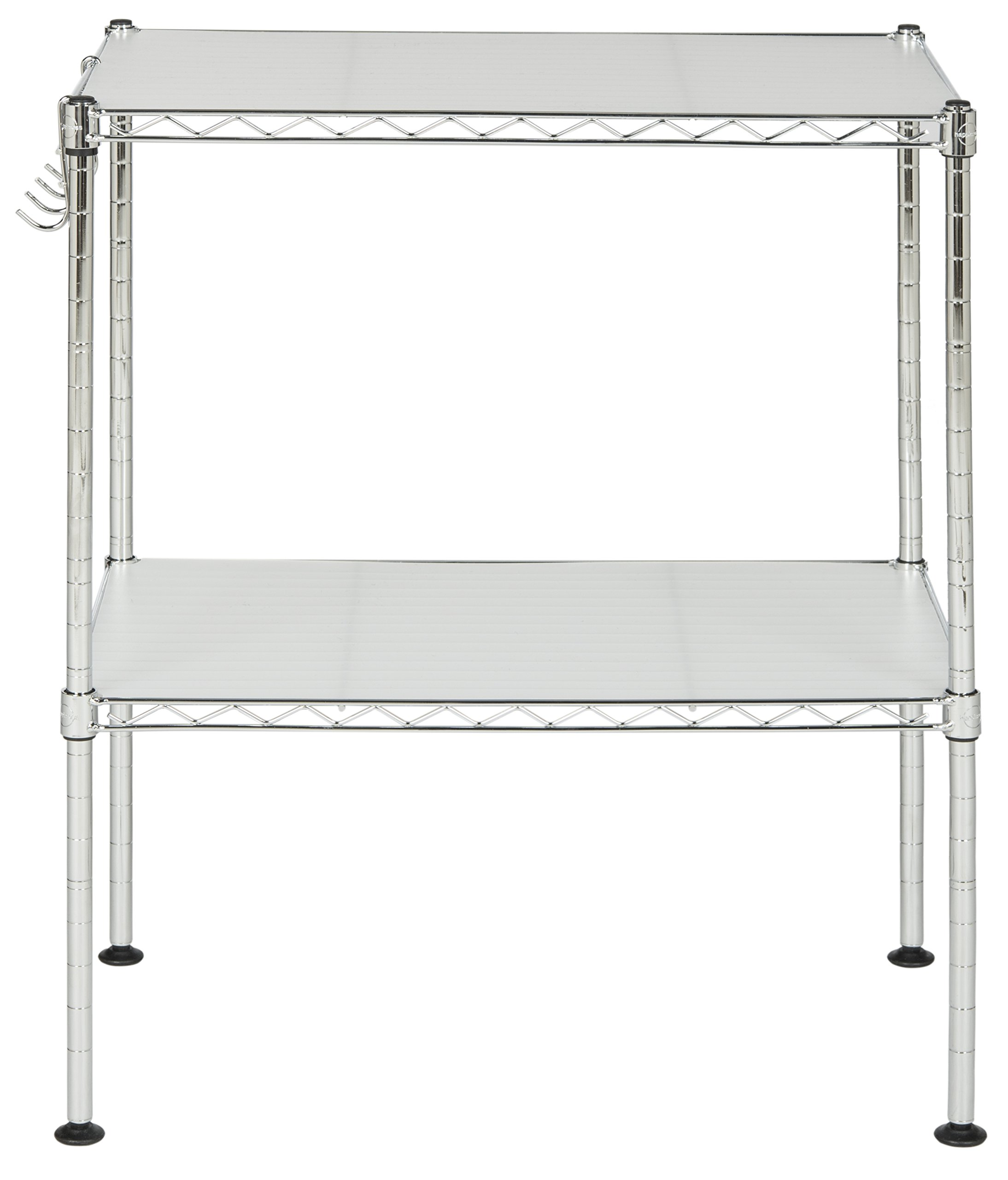 happimess HPM5013A Racking, 19.69 in. W x 11.81 in. D x 23.62 in. H, Silver by happimess (Image #6)