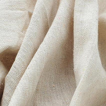 Amazon Light Beige Linen Needlework Embroidery Fabric Cross