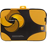 "Samsonite 18.4"" Classic Laptop Sleeve Protection Bag 18.4 Inch Yellow & Black"