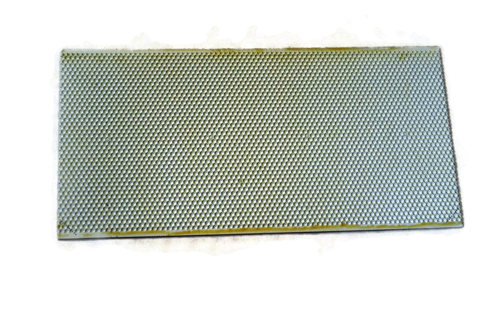 Acorn bee white plastic bee's wax coated deep foundation