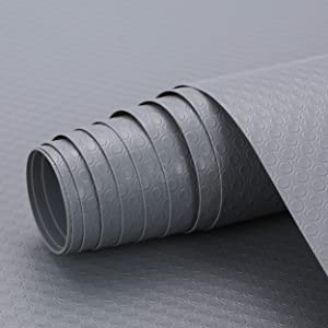 Non-Slip Shelf or Drawer Liner Mats, Cut-to-Size, Non-Adhesive, Non-Toxic, Food Friendly, Waterproof & Easy-to-Clean for Cupboards, Cabinets, Fridges, Drawers or Shelves