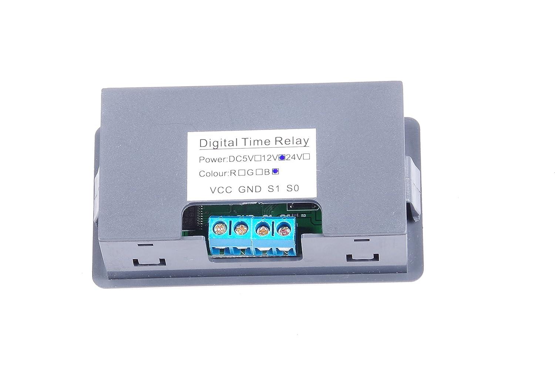 Knacro 1500w Dc 12v 11 14v Automotive Relay Switch Digital Time Board