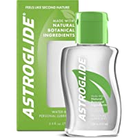 Astroglide Natural Feel Liquid, Water Based Personal Lubricant, 2.5 oz.