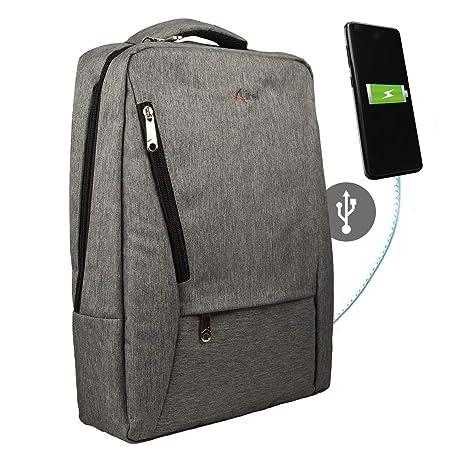 db07676ab Airel Mochila Inteligente | Mochila Portátil 15.6 Pulgadas | Mochila con  Conector USB | Daypack Portátil