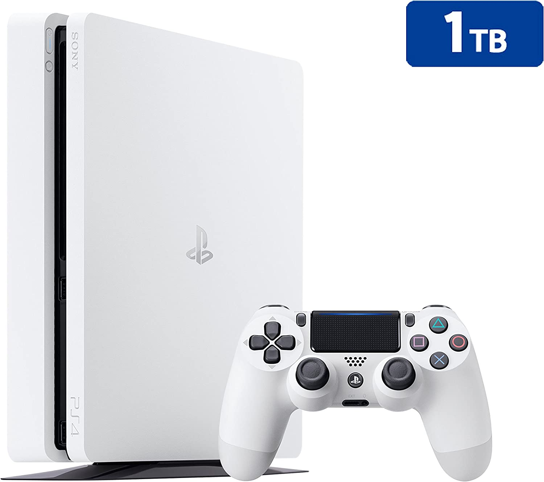 PS4 Slim 1Tb Blanca Playstation 4 - Consola 1TB, Blanca, Slim: Amazon.es: Videojuegos