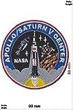 "Patches - Nasa - Apollo / Saturn V Center - Aéronautique et espace - Nasa - Nasa- Applique embroidery Écusson brodé Costume Cadeau - Patch"""