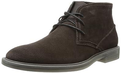 Amazon.com | Calvin Klein Men's Ulysses Suede Chukka Boot | Chukka
