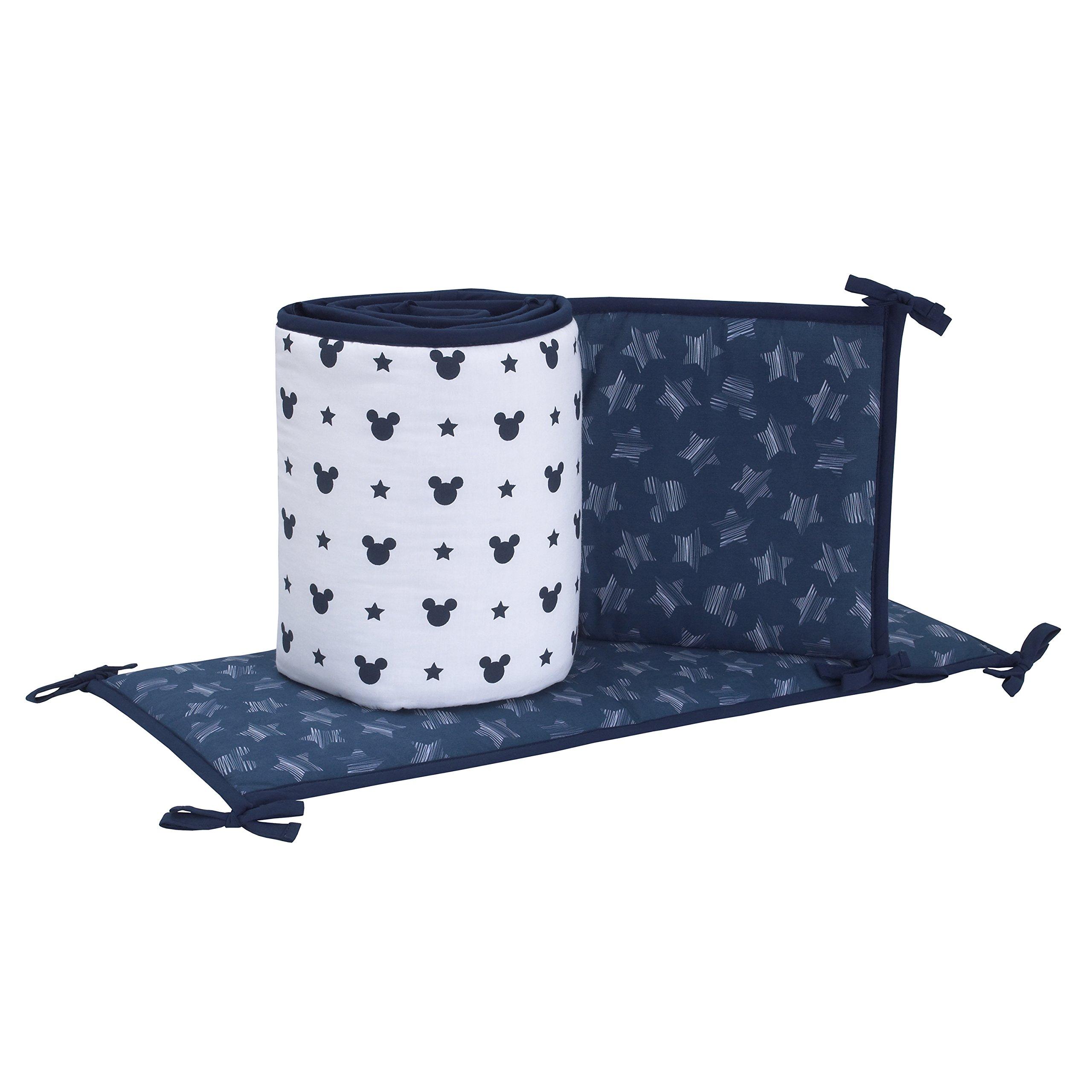 Amazon Com Disney Mickey Mouse 3 Piece Crib Bedding Set