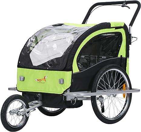 fixi Master 2 en 1 Baby Remolque de bicicleta Cochecito mano carro ...