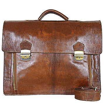 28d685544dd6 Amazon.com  jakani Cuir J5  Vintage Moroccan Leather Satchel - Handmade  Moroccan leather Messenger Bags - Briefcase Laptop Bag - Best Computer  Shoulder ...