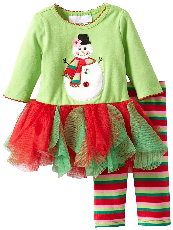 輝く高品質な Bonnie Baby B00EIBPMLE Baby グリーン Girls新生児雪だるまAppliquedチュチュレギンスセット L グリーン B00EIBPMLE, 買取り実績 :457ddd34 --- a0267596.xsph.ru