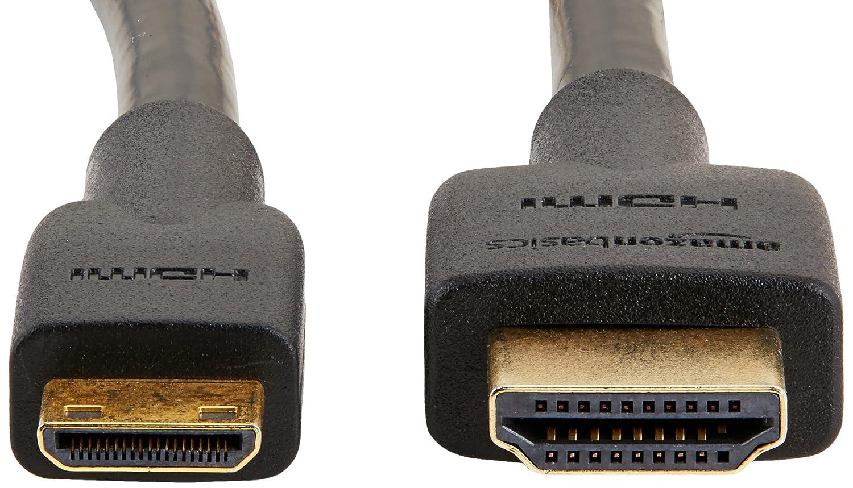 Basics mit RedMere-Technologie Hochgeschwindigkeits-Mini-HDMI-Kabel 4,6 m