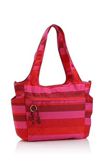Amazon.com: Okiedog Saha bolsa – Bolso cambiador, color rojo ...
